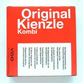 Scatola dischi tachigrafo 100 PZ – Original Kienzle 125 Km/h