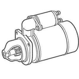 Motorino avviamento Tector