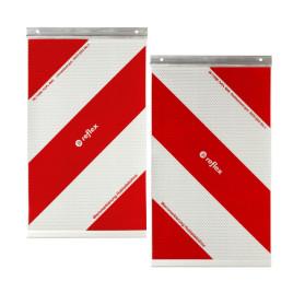 Kit pannelli flessibili riflettenti per sponda idraulica (destro e sinistro)