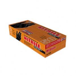 Confezione di 50 guanti in nitrile, spessi [Taglia L]