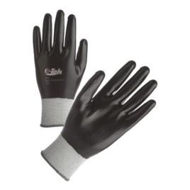 Paio di guanti antiolio in nitrile, colore nero [Taglia 10]